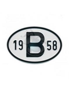 PLACA 19 B 58