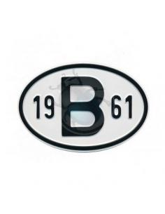 PLACA 19 B 61