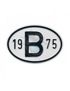 PLACA 19 B 75