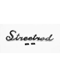 "ANAGRAMA CROMADO ""STREETROD"""